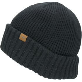 Sealskinz Waterproof Cold Weather Gorro Roll Cuff, black
